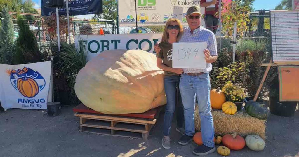 Former RS Resident Breaks Wyoming's Largest Pumpkin Record