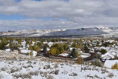 Some Areas of Sweetwater County See More Than 6 Inches of Snow